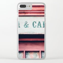 Tea & Cakes Clear iPhone Case