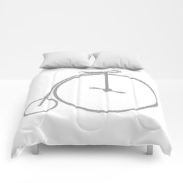 Penny Farthing Halftone Comforters