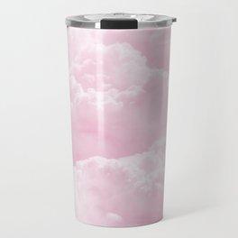Clounds Sky Pink Travel Mug