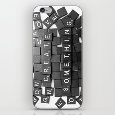 Anything Please iPhone & iPod Skin