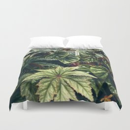 Beautiful Begonias Duvet Cover