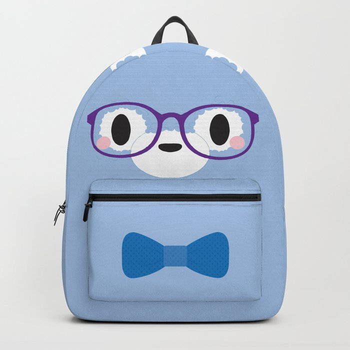 Nerdy Alpaca Block Backpack by anji   Society6 25ce2fe6a9