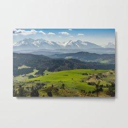 Tatry Poland Landscape Metal Print