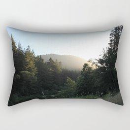 North Near Sunset Rectangular Pillow