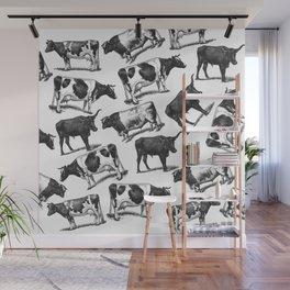Cows, Cows Everywhere Wall Mural