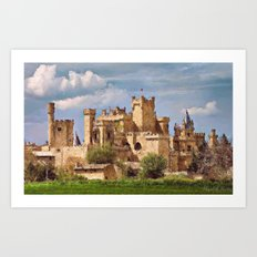 Strong fortress Art Print