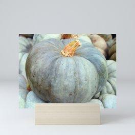 Blue Pumpkin Mini Art Print