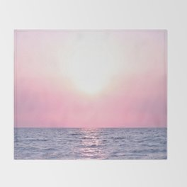 Calming Sea view Throw Blanket