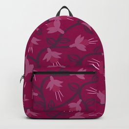 Pink Fuchsias in Bloom Backpack