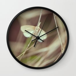 Summer butterfly Wall Clock