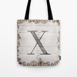 Neutral Monogram X Tote Bag