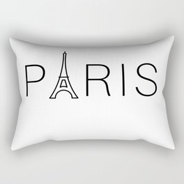 PARIS EIFFEL TOWER Rectangular Pillow