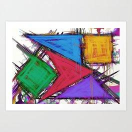 Disruptor Art Print