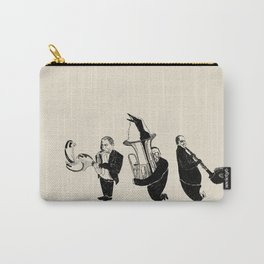 Jazz Birds Carry-All Pouch