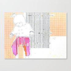 Das tägliche Üben ist erste Voraussetzung. Canvas Print