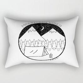 Mountain Vibes Rectangular Pillow
