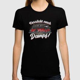 Eisenbahn Dampf Dampflok T-shirt