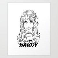 Team Hardy Art Print