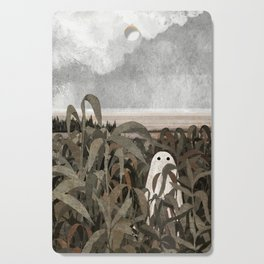 There's A Ghost in the Cornfield Again Cutting Board