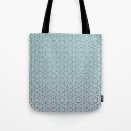 Tessellation - Culture Clash - Polytone Teal / Indigo Tote Bag