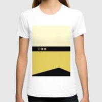 picard T-shirts featuring Data - Minimalist Star Trek TNG The Next Generation - Enterprise 1701 D - startrek - Trektangles by Trektangles
