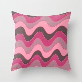 Seismic  Throw Pillow