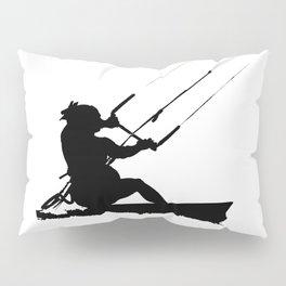 Wakeboarder Water Sport Silhouette Pillow Sham