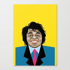 James Brown Canvas Print