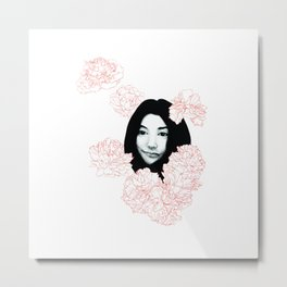 Imagine Yoko Metal Print