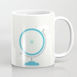 Bike Globe Coffee Mug