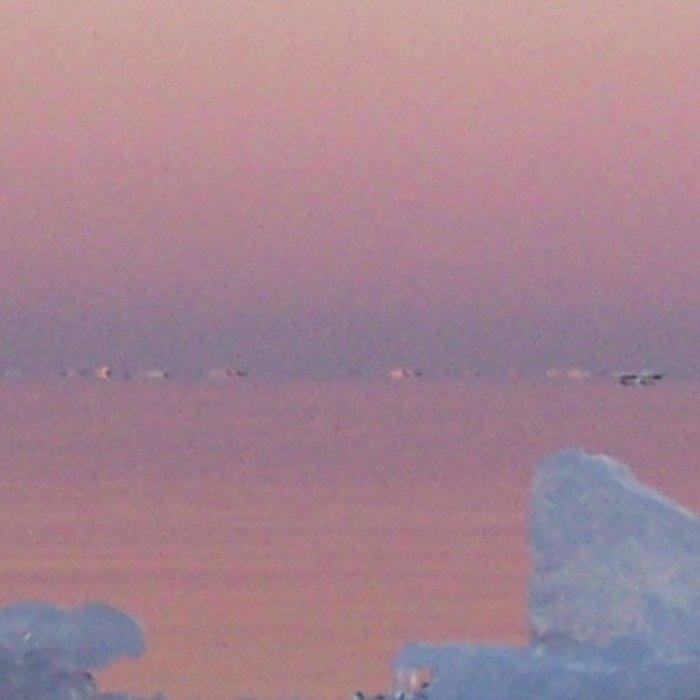 Viking Iceberg Ship Leggings