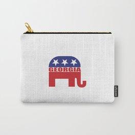 Georgia Republican Elephant Carry-All Pouch