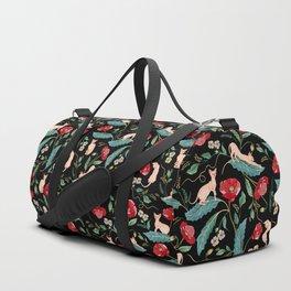 Ramona Poppy Black Duffle Bag