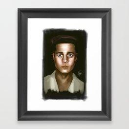 Benjamin Button Framed Art Print