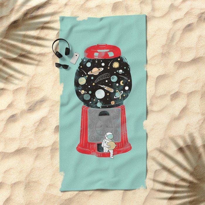 My childhood universe Beach Towel