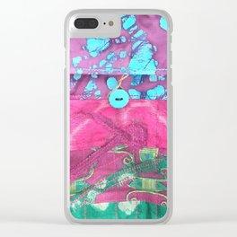 Bohemian Batik Clear iPhone Case