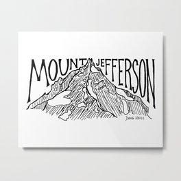 Mount Jefferson Metal Print