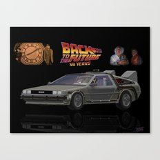 Back To The Future 30 years Canvas Print