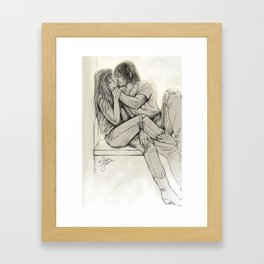 I'll be yours for a song Framed Art Print