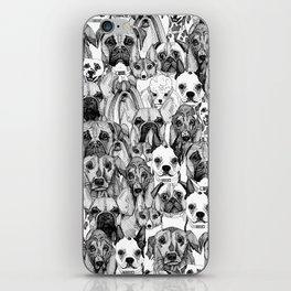just dogs iPhone Skin