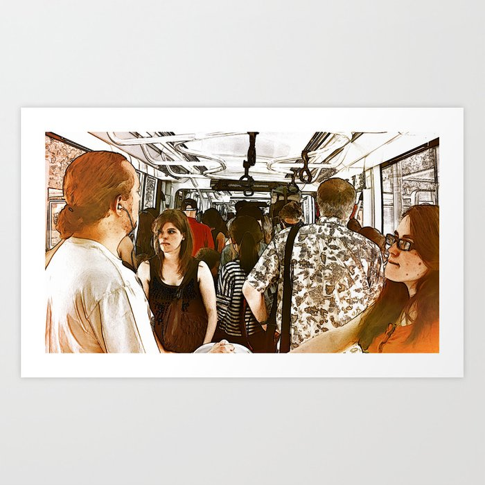 Alone & Together #3 Art Print