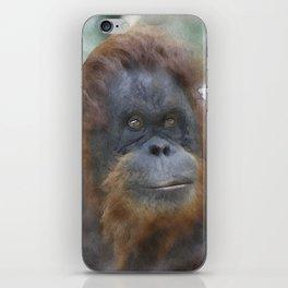 WColor Orang Utan 1 iPhone Skin
