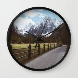 Let's hike together - Landscape and Nature Photography Wall Clock