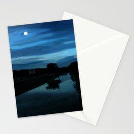 Kerala moonlight night - 189 Stationery Cards