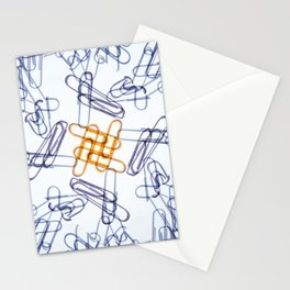 Kaleidoscope -Paper Clips Stationery Cards