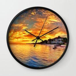 Obligatory Sunset shot Wall Clock