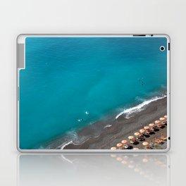 Positano Beach Umbrellas Laptop & iPad Skin