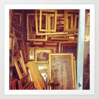 frames Art Prints featuring Frames by SarahS