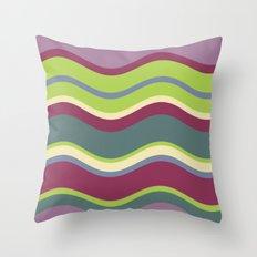 Lavender Shores Throw Pillow