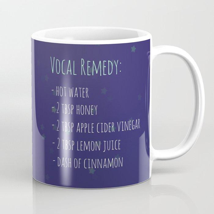 Vocal Remedy Ingredients Coffee Mug